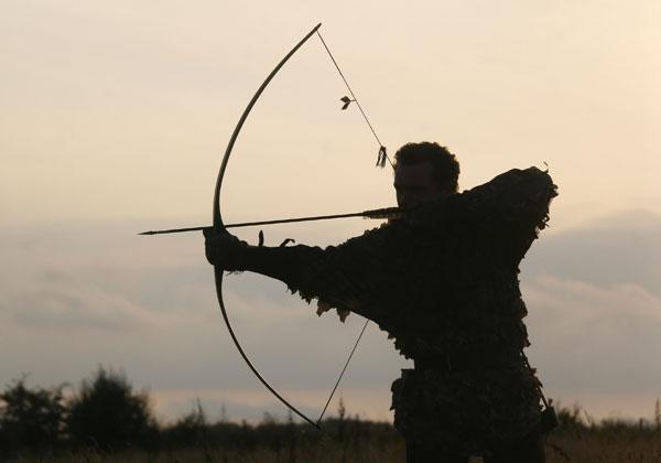 chasse à l'arc